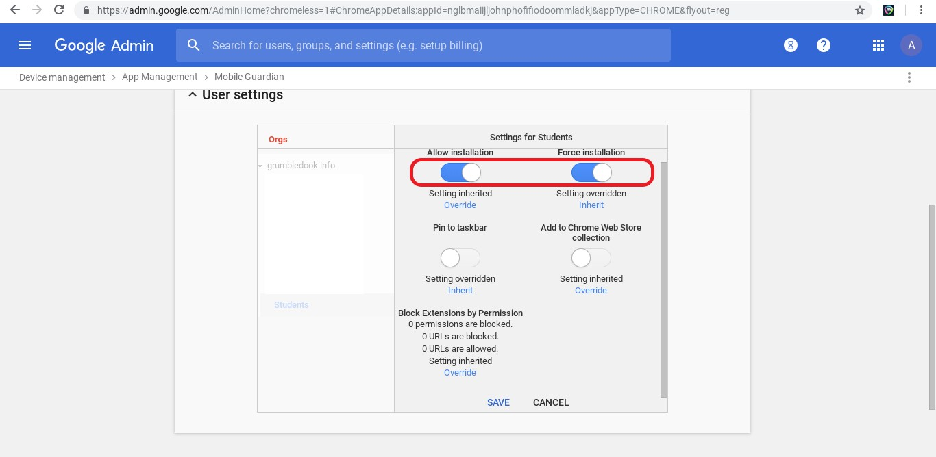 Chromebook Onboarding - Part 3 - Configuring Mobile Guardian